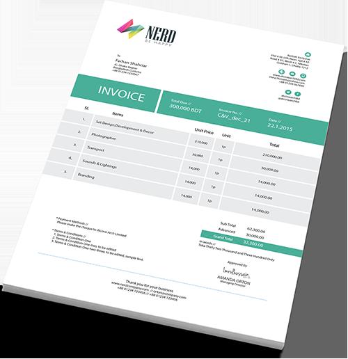 Invoices Design